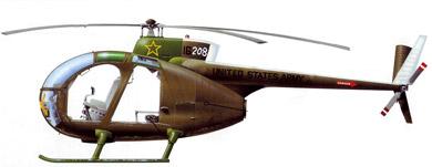 Profil couleur du Hughes OH-6 Cayuse