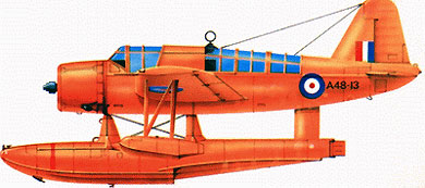 Profil couleur du Vought OS2U Kingfisher