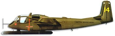 Profil couleur du Grumman OV-1 Mohawk