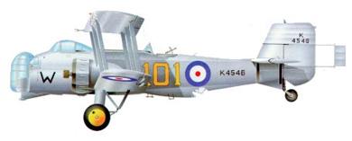 Profil couleur du Boulton Paul P.75 Overstrand