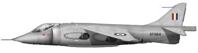 Profil couleur du Hawker-Siddeley P.1127 Kestrel