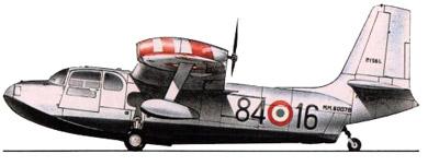 Profil couleur du Piaggio P-136