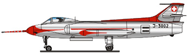 Profil couleur du FFA P-16