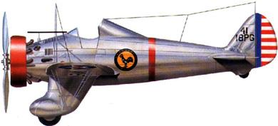 Profil couleur du Boeing P-26 Peashooter