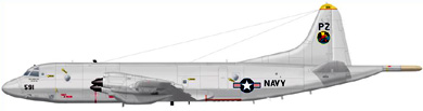 Profil couleur du Lockheed P-3 Orion