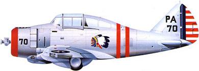 Profil couleur du Seversky P-35
