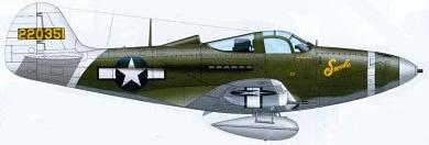 Profil couleur du Bell P-39 Airacobra