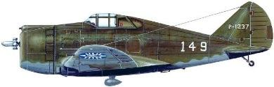 Profil couleur du Republic P-43 Lancer