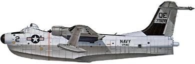 Profil couleur du Martin P5M Marlin