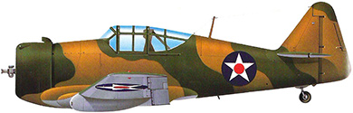 Profil couleur du North American P-64 / NA-50