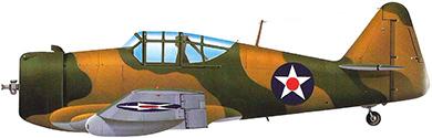Profil couleur du North American P-64 / NA-50