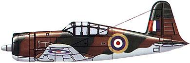 Profil couleur du Vultee P-66 Vanguard