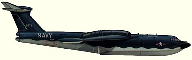 Profil couleur du Martin P6M Seamaster