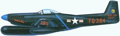 Profil couleur du North American P-82 Twin Mustang