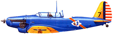 Profil couleur du Consolidated PB-2
