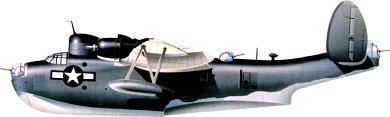 Profil couleur du Martin PBM Mariner