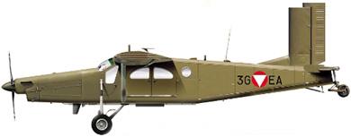 Profil couleur du Pilatus PC-6 Porter/Turbo-Porter