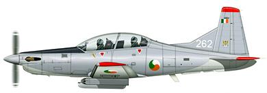 Profil couleur du Pilatus PC-9