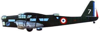 Profil couleur du Potez 540