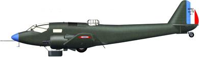 Profil couleur du Potez 56/560