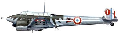Profil couleur du Potez 630/631