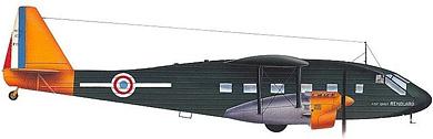 Profil couleur du Potez 65/650