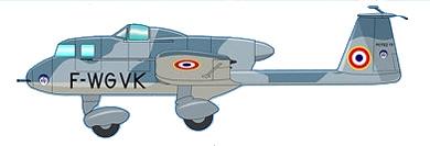 Profil couleur du Potez 75