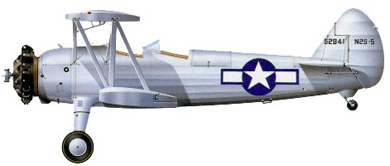 Profil couleur du Boeing-Stearman PT-17/N2S