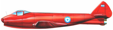 Profil couleur du FMA I.Ae. 27 Pulqui I