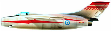 Profil couleur du FMA I.Ae. 33 Pulqui II