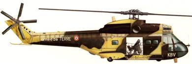 Profil couleur du Aérospatiale SA.330 Puma