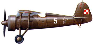 Profil couleur du P.Z.L. P.11