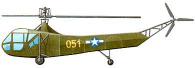 Profil couleur du Sikorsky R-4 Hoverfly