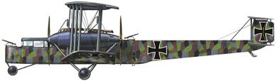 Profil couleur du Zeppelin-Staaken R.VI