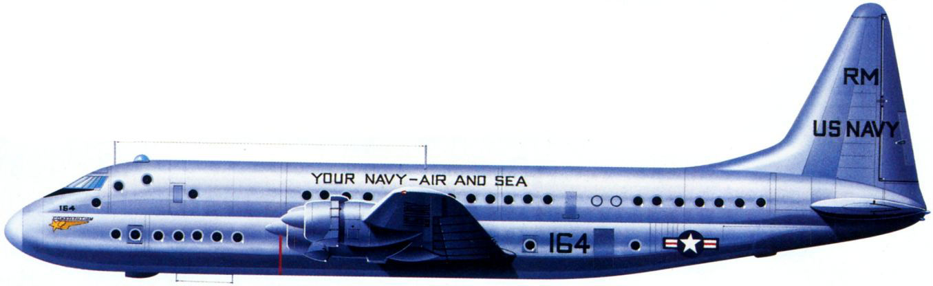 Profil couleur du Lockheed R6V Constitution
