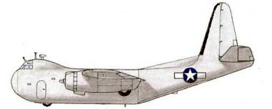 Profil couleur du Budd RB-1 Conestoga