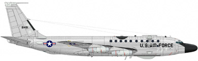 Profil couleur du Boeing RC-135 Rivet Joint