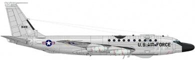 Profil couleur du Boeing RC-135 Rivet Joint