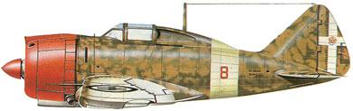Profil couleur du Reggiane Re.2000 Falco