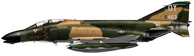 Profil couleur du McDonnell RF-4 Phantom II