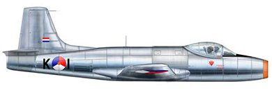 Profil couleur du Fokker S-14 Mach-Trainer