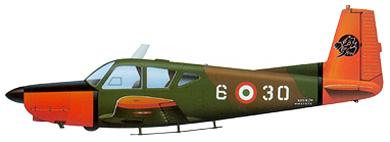 Profil couleur du SIAI-Marchetti S.208M