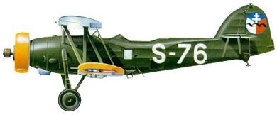 Profil couleur du Letov S-328