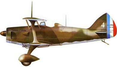 Profil couleur du Blériot-SPAD S.510