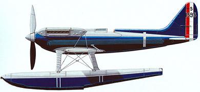 Profil couleur du Supermarine S.6