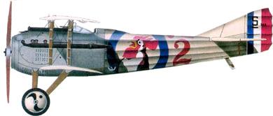 Profil couleur du SPAD S.VII