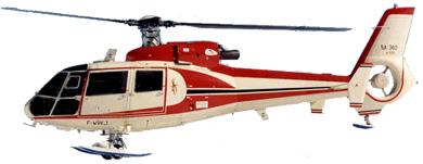 Profil couleur du Aérospatiale SA.360 Dauphin
