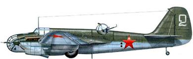Profil couleur du Tupolev SB-2