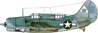 Profil couleur du Curtiss SB2C Helldiver