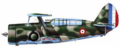 Profil couleur du Curtiss SBC Helldiver